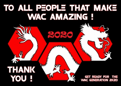 WAC 2020 is coming...